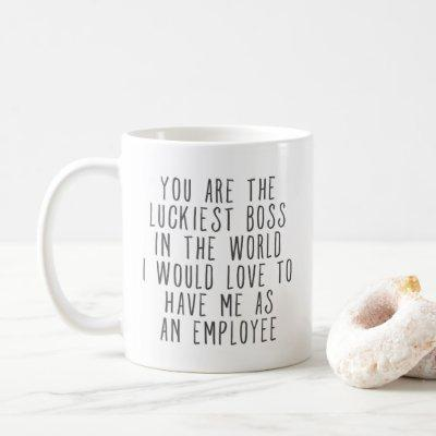 Funny Gift For Boss Coffee Mug