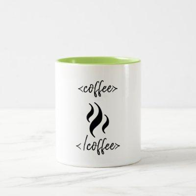 Funny HTML Coder Coffee Mug