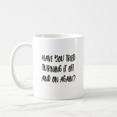 Funny IT geek mug