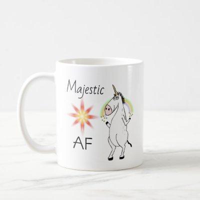 Funny Majestic AF Coffee Mug