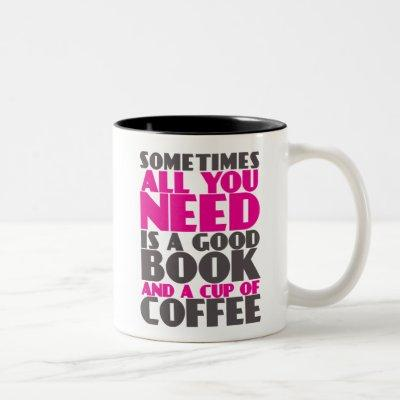 Funny Mug for Book and Coffee Lovers Bookworm Nerd