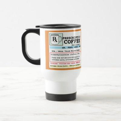 Funny RX Coffee Mug