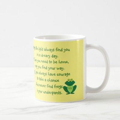 Funny Sayings: Cute and Funny Frog Mug