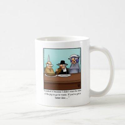 Funny Thanksgiving Football Humor Mug