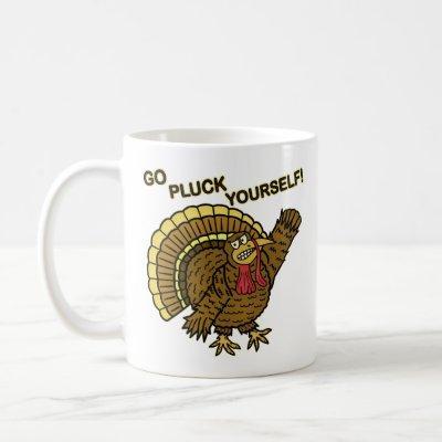Funny Thanksgiving Turkey Pun Coffee Mug