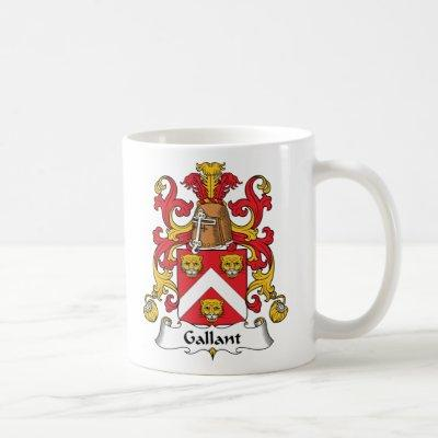 Gallant Family Crest Coffee Mug