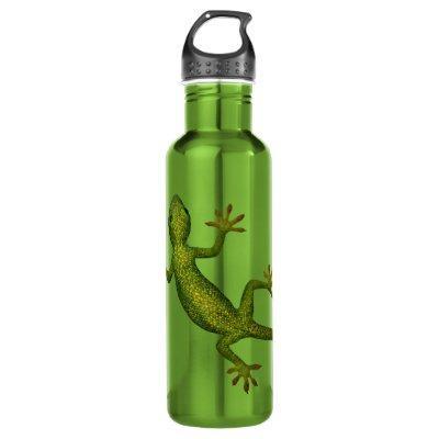 Gecko Stainless Steel Water Bottle