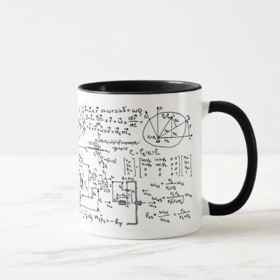 Geeky Math Mathematics Mug