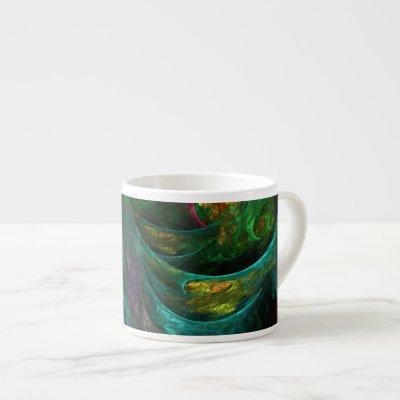 Genesis Nova Abstract Art Espresso Mug