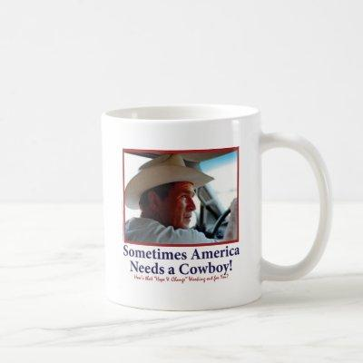 George W Bush in Cowboy Hat Coffee Mug