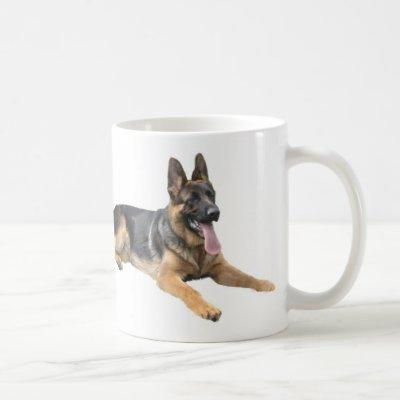 German Shepherd Love Mug