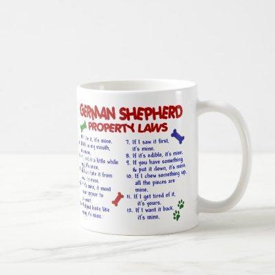 GERMAN SHEPHERD PL2 COFFEE MUG