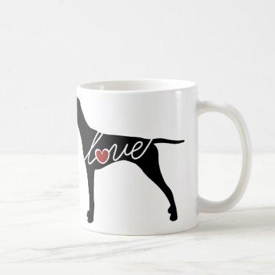 German Shorthaired Pointer Love Coffee Mug