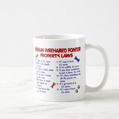 GERMAN WIREHAIRED POINTER PL2 COFFEE MUG