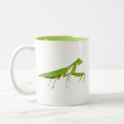 Giant Green Praying Mantis Mug