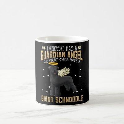 Giant Schnoodle Dog Owner Coffee Mug