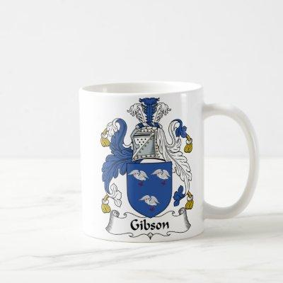 Gibson Family Crest Coffee Mug