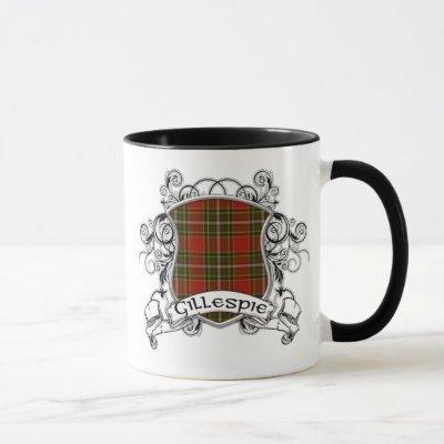Gillespie Tartan Shield Mug