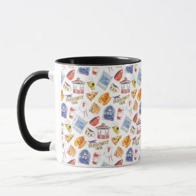 Gilmore Girls Pattern Mug