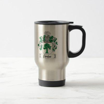 Giordano Family Crest Travel Mug
