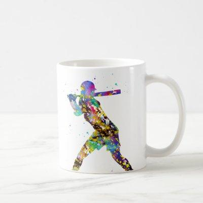 Girl Softball Player Coffee Mug