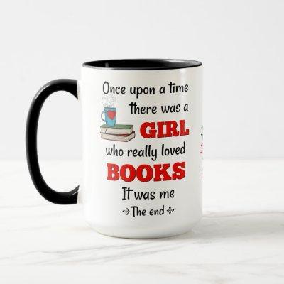 Girl Who Loved Books Mug