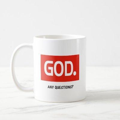GOD period Coffee Mug