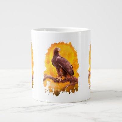 "Golden Eagles ""THE GOLDEN ONE"" Giant Coffee Mug"