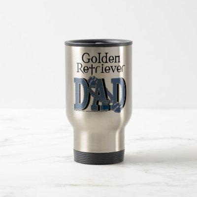 Golden Retriever Dad Travel Mug