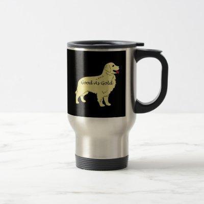 Golden Retriever Good As Gold Travel Mug