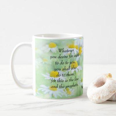 Golden Rule - Matthew 7:12 Coffee Mug