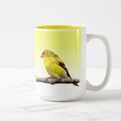Goldfinch Two-Tone Coffee Mug
