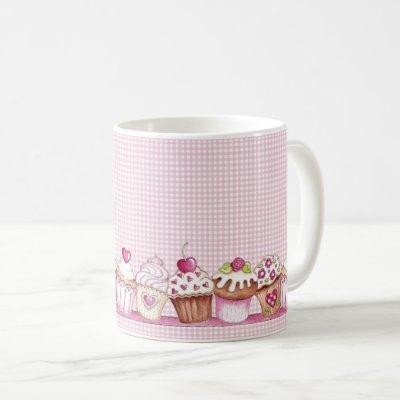 Good Morning Cupcake Coffee Mug