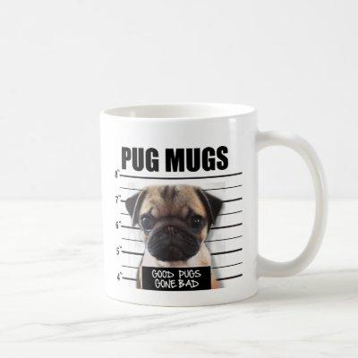 good pugs gone bad coffee mug