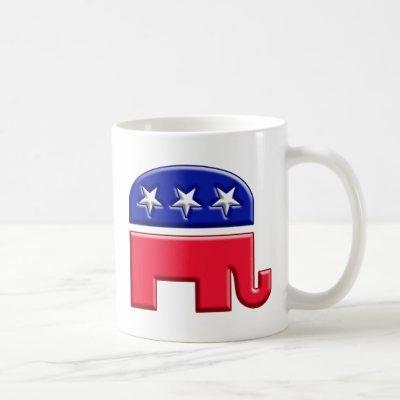 GOP Elephant Logo Coffee Mug