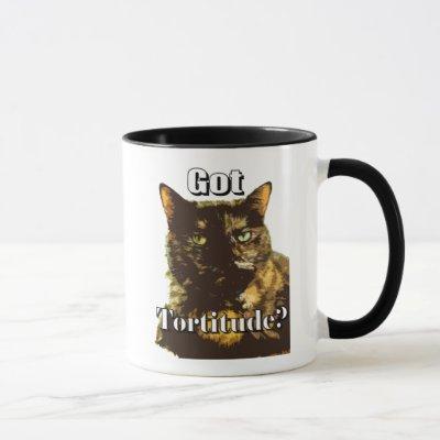 Got Tortitude Combo Mug with Tortoiseshell Cat