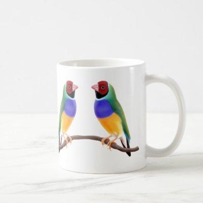 Gouldian Finches Mug