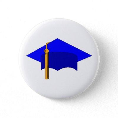Graduation Cap Pinback Button