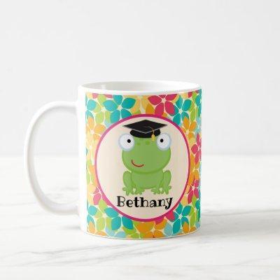 Graduation Frog Grad Gift Idea Coffee Mug