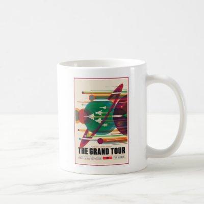 Grand Tour of the Giant Planets Coffee Mug