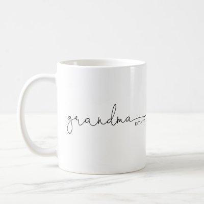 Grandma Established | Grandma Gift Coffee Mug