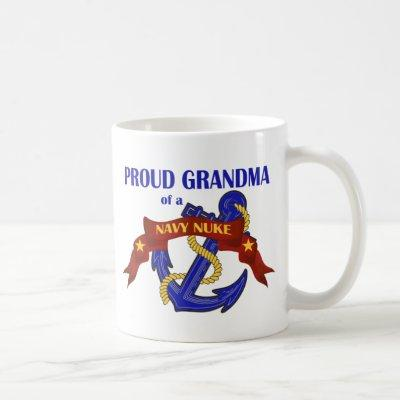 Grandma of a Navy Nuke Coffee Mug