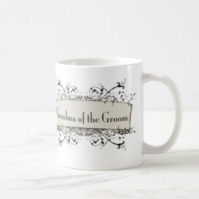 *Grandma Of The Groom Coffee Mug
