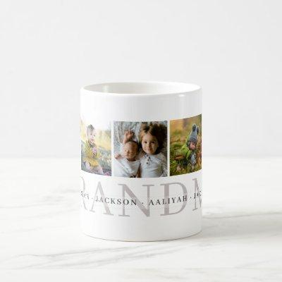 Grandma Personalized Photo Mug