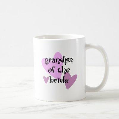 Grandpa of the Bride Coffee Mug