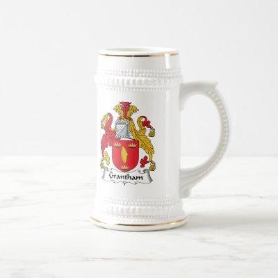 Grantham Family Crest Beer Stein