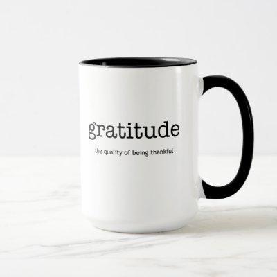 Gratitude Inspiration Mug