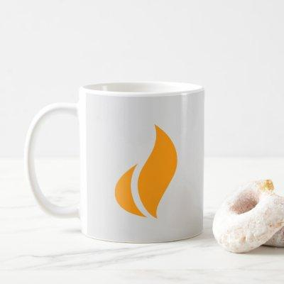 Great Courses Plus Flame white coffee mug