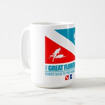 Great Florida Reef (sq) Coffee Mug