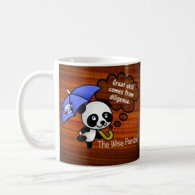 Great skill comes from diligence coffee mug